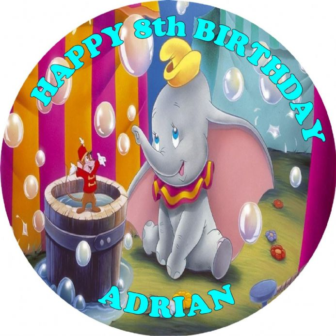 Dumbo Cake Topper Uk
